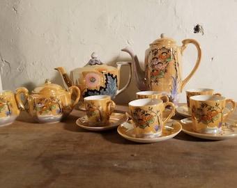 14 piece made in japan tea set