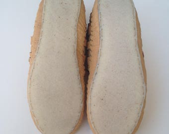 Crepe rubber sole