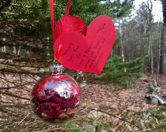Love and Passion Witch's Spell Ball Magickal Ornament