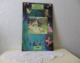 The Great Fairy Tales Treasure Chest, Jumbo Book with Three Stories, 1990s