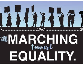 Women's March 2018 Posters - STILL MARCHING for EQUALITY