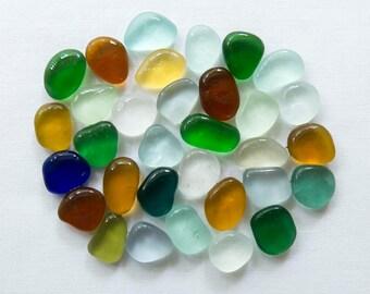 English Sea glass - Colours - Lot DC1151