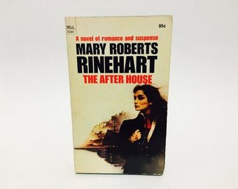 Vintage Gothic Romance Book The After House by Mary Roberts Rinehart 1975 Paperback