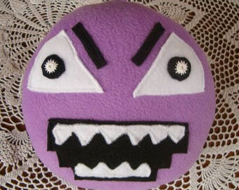 Handmade soft toy the round Shape Hanger, large, safe for all ages, inspired by the Numberjacks characters.