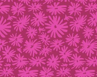 JUDITH'S FANCY Mary Magenta Jennifer Paganelli, Shabby Chic, Shabby Nursery Decor, Cottage Chic, Boho Chic Nursery, Cotton Quilt Fabric
