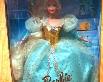 Vintage Barbie as Cinderella Collector Edition Mattel Doll New in Box, 1997