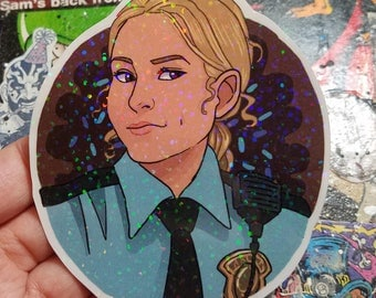 Holographics Sticker - Donna Hanscum holographic