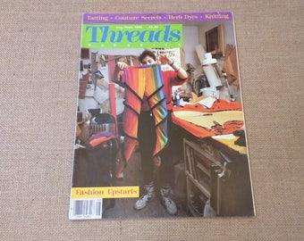 Threads Magazine August September 1986 Back Issue Number 6