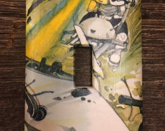 Star Wars Upcycled / Recycled Light Switch Plate