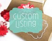 Custom Sticker Listing for Eva