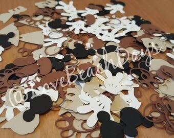 Safari Mickey Mouse Confetti: Disney Animal Kingdom confetti