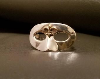 Mardi Gras Mask Ring