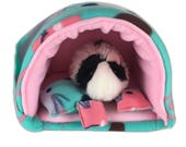 Furry friends  guinea pig bed, guinea pig hideout