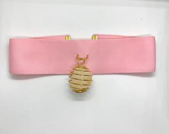 Baby Pink Citrine Choker