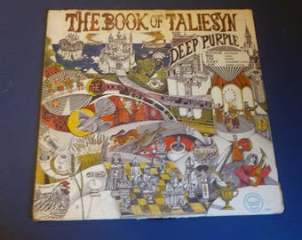 Deep Purple The Book Of Taliesyn Vinyl Record T-107 Tetragrammaton Records 1968