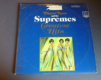 Dianna Ross And The Supremes Greatest Hits Vinyl Record LP MS 2-663 Double Album  Motown Records 1967