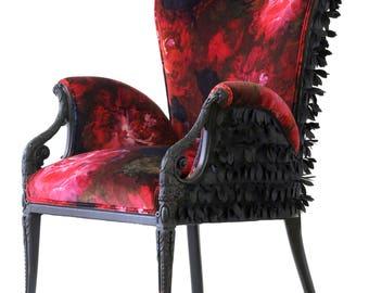 "Upholstered ""Rosella"" Armchair"