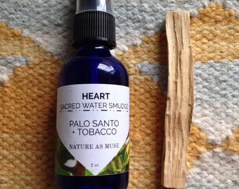 Palo Santo Water Smudge Spray