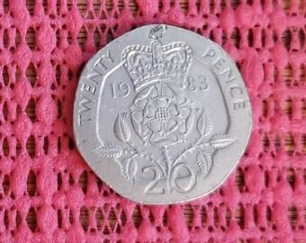 Great Britain 20 pence 1983