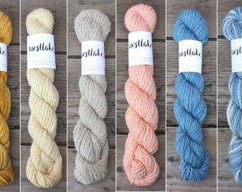 Baby Llama Naturally Dyed Yarn, eco friendly knitting supplies