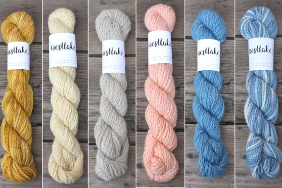 Baby Llama Naturally Dyed Yarn, eco friendly knitting supplies