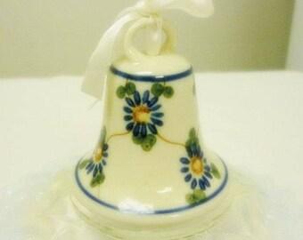 Poland Art Pottery Bell