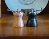 Handmade Wooden Salt and Pepper Grinders - Handmade Wooden Salt and Pepper Mills – Wood, Metal, Ceramic Grinder-SPM389
