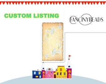 CUSTOM listing for G