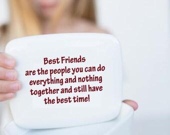 Best Friend Gift   Secret Box   Best Friend   Birthday gift for best friend   Handmade Ceramic from my Charleston, SC studio