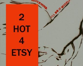 Male Figure Study 12x12 Gay Art Erotic Art Original Art Painting Acrylic Pop Art Graffiti Street Art Graffiti on Canvas Fetish Art (Mature)