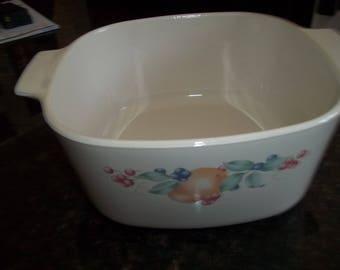 Abundance ,Corning Ware A-3-B, 3 Quart /3Liter  Casserole Dish