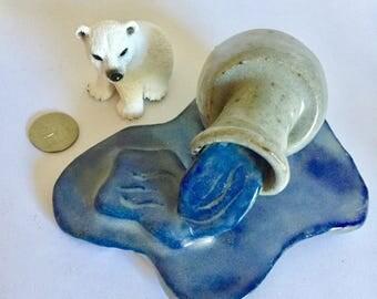 Arctic Reflections Water Sculpture