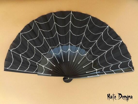 Spiderweb Hand Fan XL