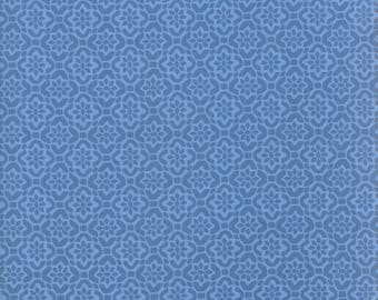 Kate Spain Voyage Fabric by the Yard, Porto in Baltic Blue, Moda Fabrics, 27287-23