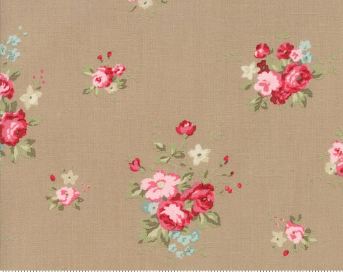 Caroline oatmeal 18650 17 by Brenda Riddle Designs for Moda Fabrics