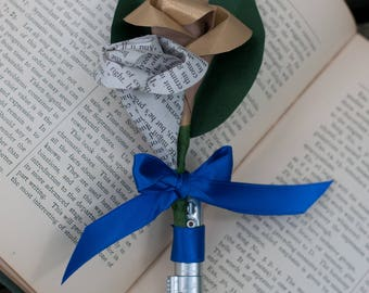 Light Saber Star Wars Up-cycled Boutonniere/Corsage