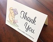 Classic Pooh Baby Shower Thank You Cards -- Private Listing