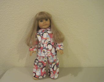 "18"" doll pajamas to fit American Girl Dolls"