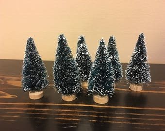 bottle brush tree etsy - Bottle Brush Christmas Trees