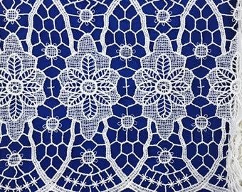 Antique French Linen Lace 9020