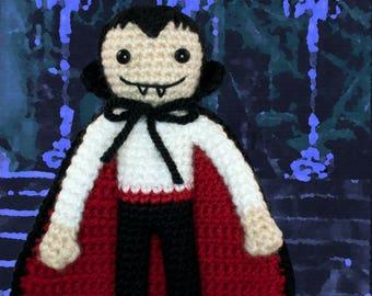 Crochet Pattern ~ Dracula ~ Crochet Pattern
