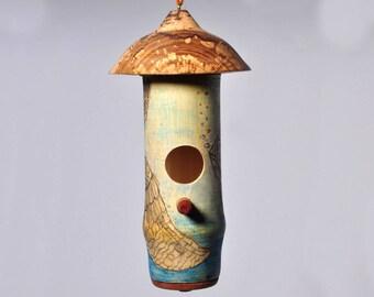 Hummingbird House - Painted - 2
