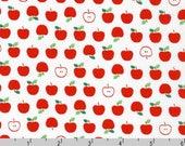 Sevenberry Mini Prints - Apples White from Robert Kaufman
