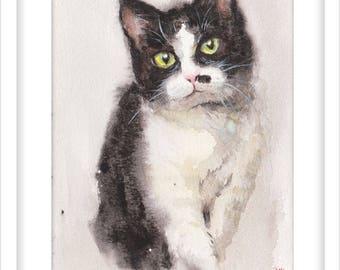 Custom pet portrait, dog portrait, cat portrait, pet portrait commission, personalized pet portrait, custom pet gift,holiday gift