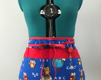 Owl Teachers Apron