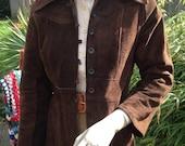 70s medieval folk hippie jacket TBC