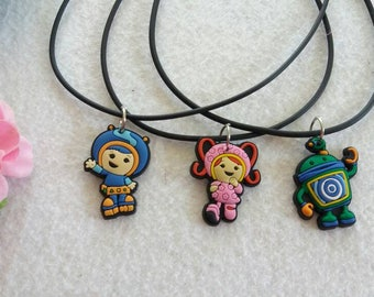 10 Team Umizoomi Silicone Necklaces