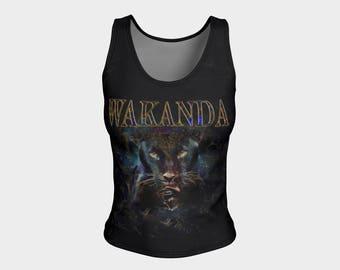 Wakanda Black Panther fitted tank