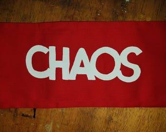 red seditionaries CHAOS armband arm band