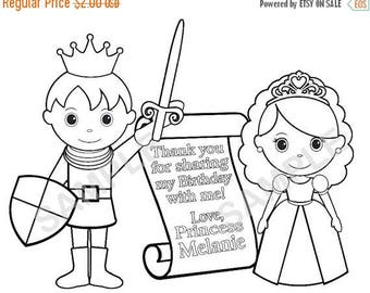 on sale printable personalized tea party birthday party favor - Princess Tea Party Coloring Pages